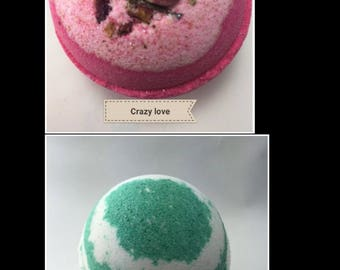 Pack of 10 bath bombs, Choose from the scents we have  available