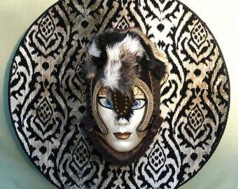 VALKYRIE - Masque de Venise / Décoration murale (Création originale MASKALIKA)