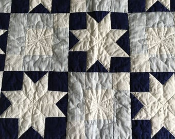 Homemade Star Quilt