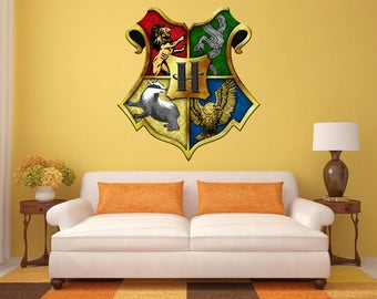 Harry Potter Decals, Harry Potter Decal Mural, Hogwarts Decals , Harry  Potter Wall Mural