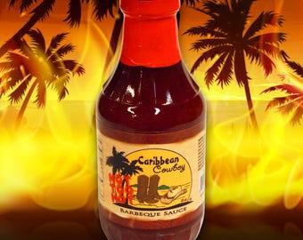Caribbean Cowboy Not Too Hot BBQ Sauce