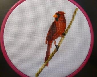 Cardinal Cross Stitch Pattern