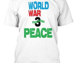 World War Peace Tee