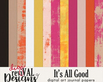 It's All Good digital art journal papers