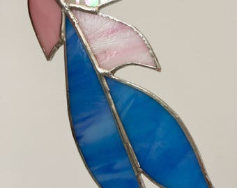 Stained glass collectable Feather No: 2