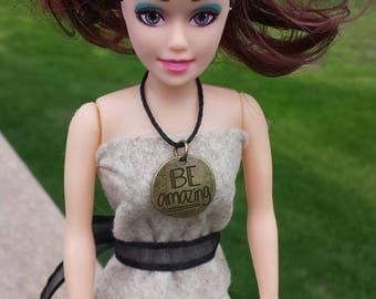Custom repurposed book doll