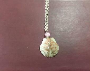 Florida Shell Sunrise Necklace