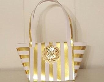 Paper purse gift or favor bag
