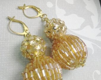 Lady Diamond Drop Earrings