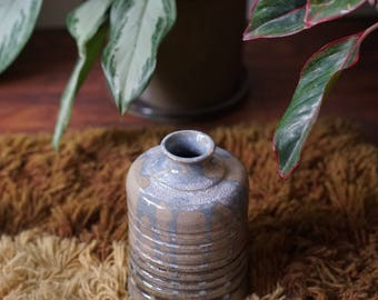 "1970's Studio Ceramic Pot, Artist Signed, 8"" Tall"