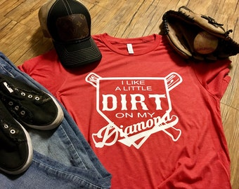 I like a little dirt on my diamond !!