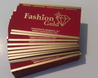 100 Luxury business cards  new Silkscreen,Thermography
