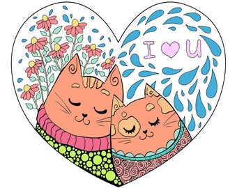I love you cats!