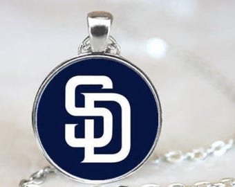 San Diego Padres MLB Necklace Pendant