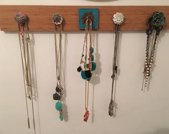 Shabby Chic Necklace Holder