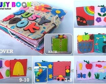 BUsy book Mix for toddlers