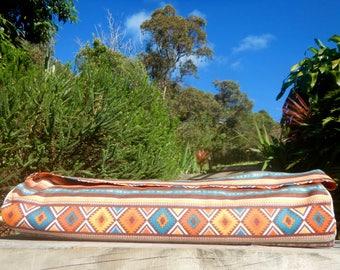 Yoga Mat Bag Aztec Orange