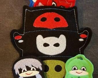 PJ Mask Finger Puppets