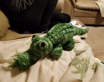 Crocodile amigurumi
