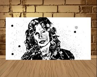 Steven Tyler poster, Aerosmith poster,Steven Tyler print ,Aerosmith print,art poster,band poster,band print,wtercolor,Steven Tyler,art,print