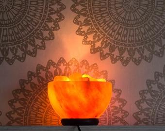 Himalayan Salt Lamp Fire Bowl