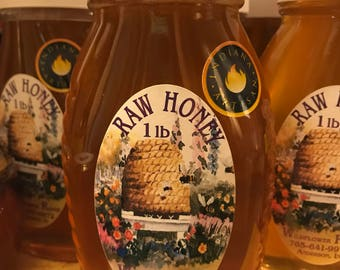 Indiana Honey 1 lb glass jar