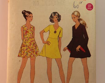 Vintage Sewing Pattern - Style Dress 2681 Size 7