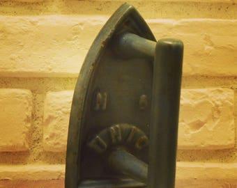 """blue enamel cast iron """"UNIC 6"""""""