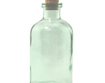 8 oz Seaglass Green Apothecary Glass Bottle for Reed Diffuser