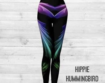Hippie Hummingbird Leggings