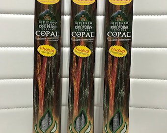 Copal incense 100 percent pure 30 pieces Incienso de Copal 100 porciento puro 30 piezas