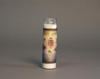 Who Dat Naton relief candle
