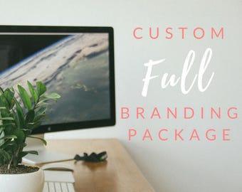 Full Business Branding Package // Custom Branding / Logo Design / Brand Identity / Brand Marketing / Small Business Marketing