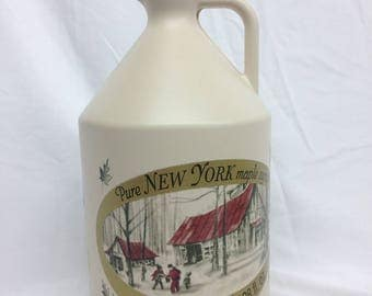 Pure NY Maple Syrup in Gallon Jugs