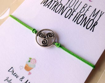 Matron of Honor • Will you be my Matron of Honor • Matron of Honor proposal • Wedding favor • Asking gifts