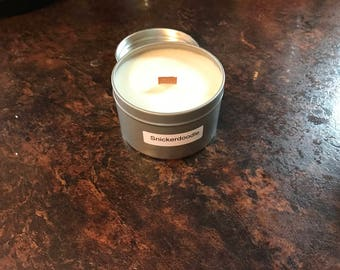 8 oz snickerdoodle soy wax candle