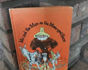 Me and the Man on the Moon-Eyed Horse a Hardback Children's Book