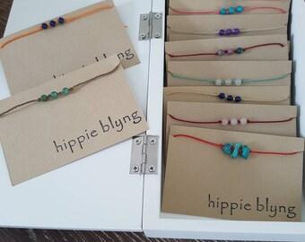 Aventurine Healing Gemstone Wish Bracelet, Chakra, Healing Jewellery