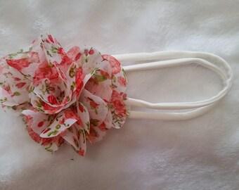 floral baby girl headband
