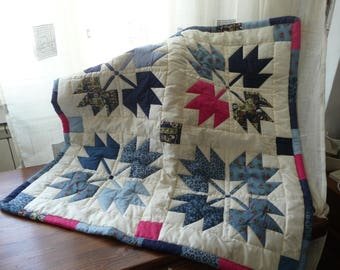 Patchwork quilted Panel