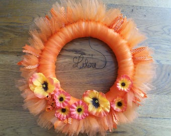 door wreath, wall decor