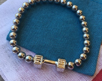 Silver Fit Life bracelet