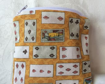 Playing Cards Coin Pouch