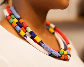 Zulu necklace-zulu-African