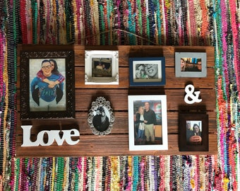 collage wood picture frame