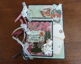 Scrapbook mini album, any theme