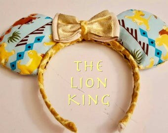 Lion King Mickey Ears