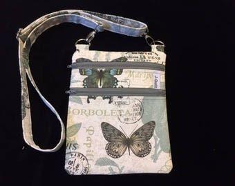Cross-Body Bag - Butterfly II