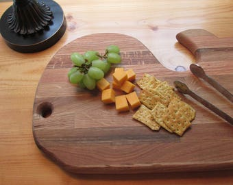 Cutting Board, Cheese Board, Hand  Made, Refurbished oak, Home Decor, Gift