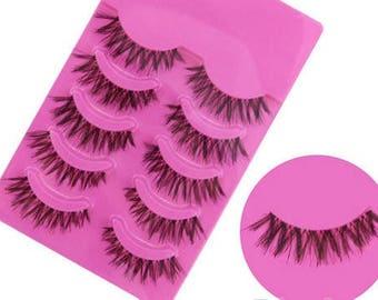 5 Pairs of Fasle Eyelashes